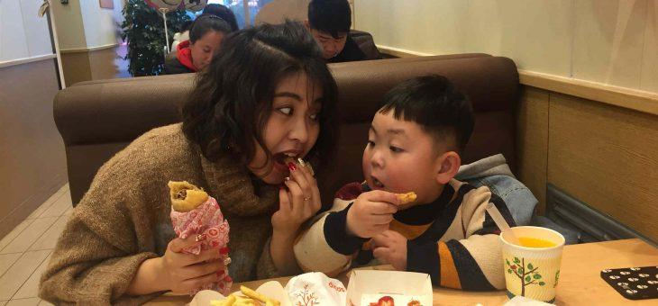 吃饭好宝宝–安迪对于吃的态度
